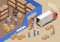 Warehouse operation job at a Factory