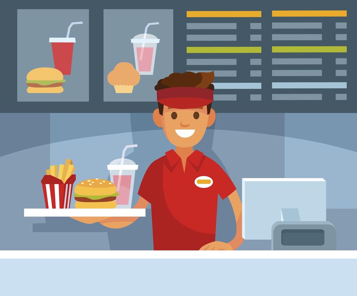 Waiter/ Waitress job at a Restaurant/Fast Food