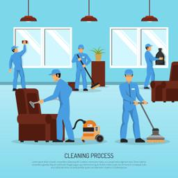 Building Cleaner job at a Cleaning Service