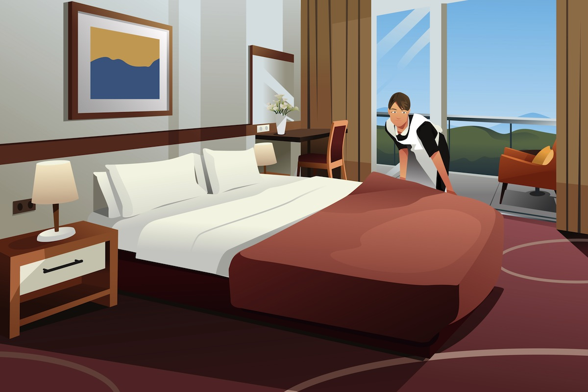 Hotel Cleaner job at a Hotel