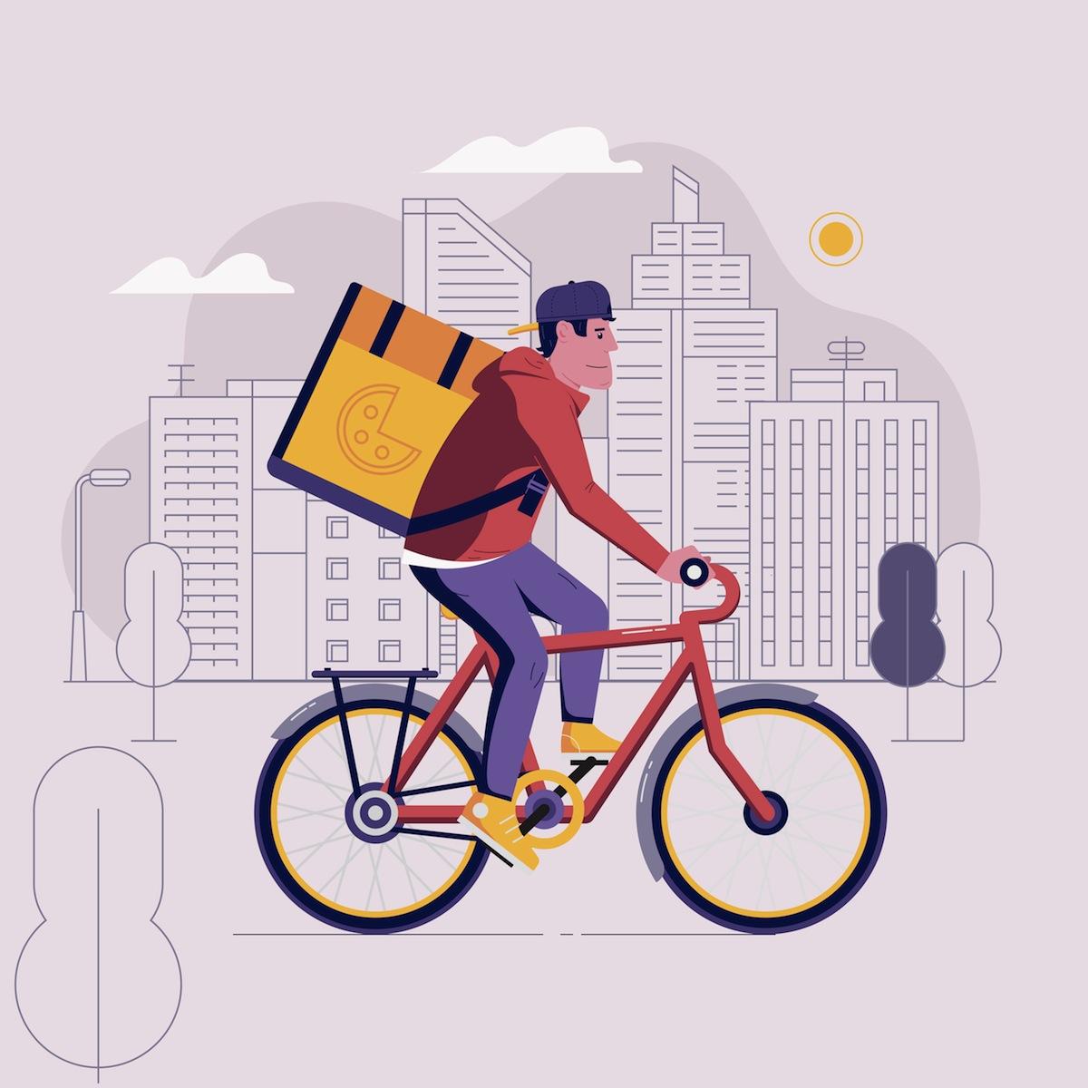 餐廳 (腳踏車運送)