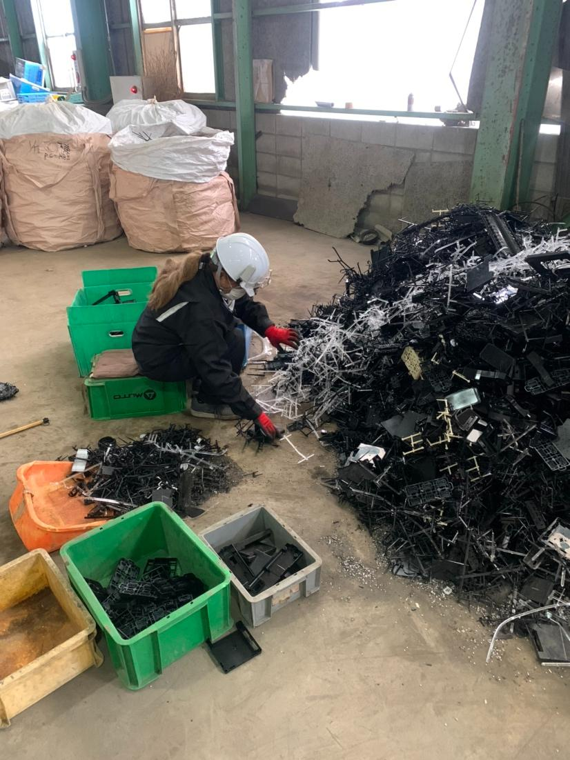 Recycling Factory (Warehouse operation)
