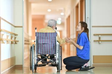 Aging home (Care giver)
